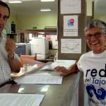 Foto Red Tajo entrega de alegaciones CHT Talavera 200913