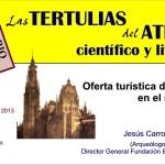 INVITACION TERTULIA OFERTA TURISTICA DE TOLEDO