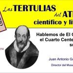 Invitacion Tertulia sobre El Greco