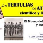 INVITACION TERTULIA MUSEO DEL EJERCITO
