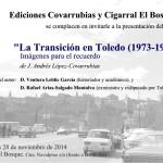 Invitacion La Transicion en Toledo